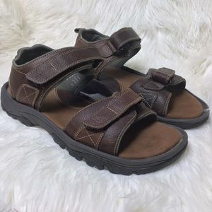 Rockport brown leather Rocklake sandals